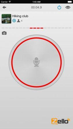 Zello Walkie-Talkie App